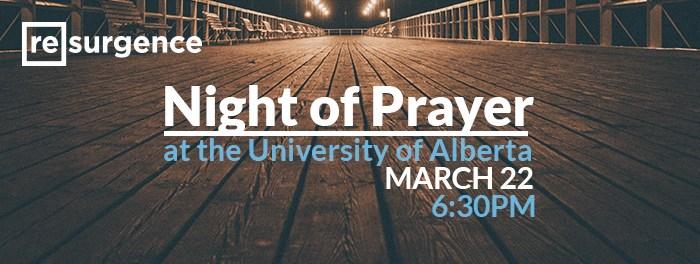 Night of Prayer March 22 2016