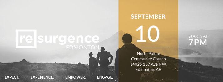 Resurgence Edmonton September 2016
