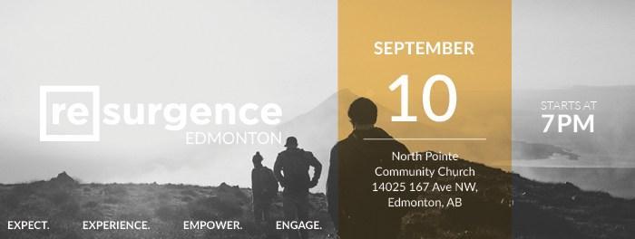 Resurgence Edmonton September 2016