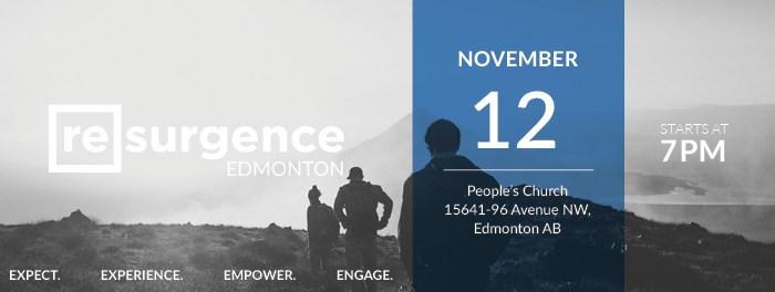 Resurgence Edmonton November 2016