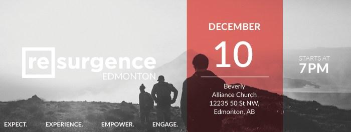 Resurgence Edmonton December 2016