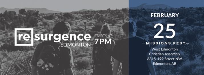 Resurgence Edmonton at MissionsFest
