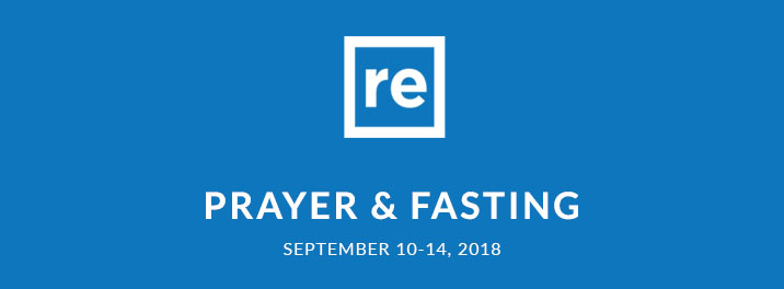 Resurgence Prayer & Fasting Sept 2018