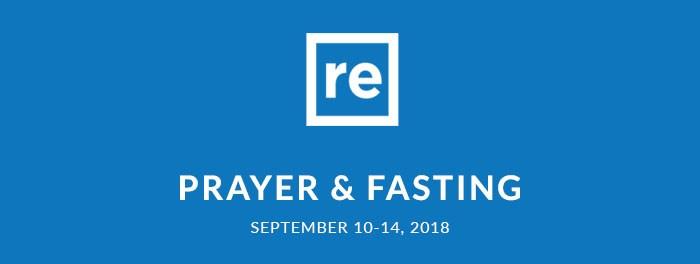 Resurgence Prayer & Fasting Sept 2018