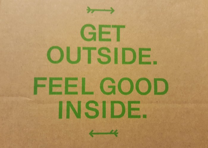 Get outside. Feel good inside. Can confirm.