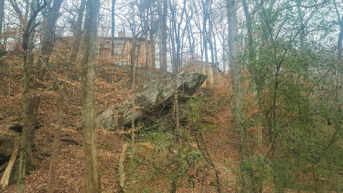 A condo-sized rock...