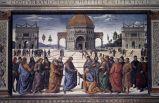 Pietro Perugino, Consegna delle chiavi