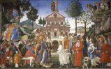 Sandro Botticelli, Tentazioni di Cristo
