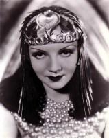 Cleopatra, regia di Cecil B. De Mille (1934): Claudette Colbert