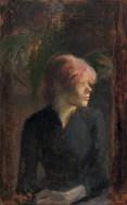 Henri de Toulouse-Lautrec Carmen Gaudin 1885