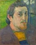 Paul Gauguin Autoritratto dedicato a Carrière 1888 or 1889