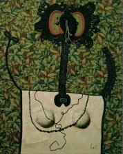 Enrico Baj, «Dama», 1963