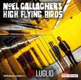Noel Gallagher's High Flying Birds al Rock in Roma il 9 luglio 2015 all'Ippodromo delle Capannelle