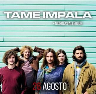 Tame Impala + Nicholas Allbrook il 26 agosto al Rock in Roma 2015 all'Ippodomo delle Capannelle