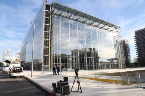 La Nuvola di Fuksas al Centro Congressi dell'EUR
