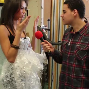 ben chats to contestants of miss liverpool