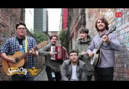 Liverpool Live TV Street Session for Sound City 2012 with HighFields