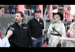 Liverpool Live TV talk to Richard & Mark from Farmaggedon at The Albert Dock