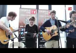 """THRESHOLD 13: David Harbottle and the Friendly Cats """"The Leaving of Liverpool"""" – LLTV Stage"""