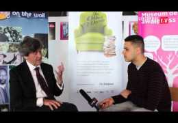 LLTV at the Writing on the Wall Festival 2013 : Ben talks to Melvyn Bragg