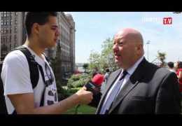 LLTV at the L.I.M.F 2013 launch: Ben talks to Mayor Joe Anderson