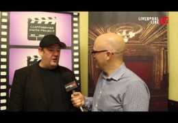 LLTV at Clapperboard UK Presents: Rich talks to Johnny Vegas