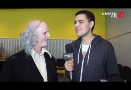 LLTV Panto Day: Ben talks to Andrew Schofield from Dreaming of a Barry White Christmas