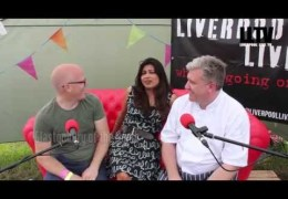 LLTV at Farm Feast:  Interview with Nisha Katona and Adam Franklin