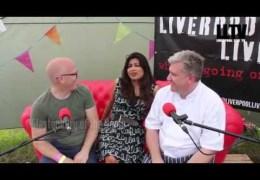 LLTV at Farm Feast:  Interview with Nisha Katona and Adam Franklin