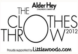 NEWS: Stars to auction their clothes for Alder Hey's 'Clothes Throw' campaign