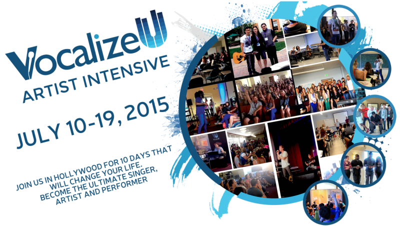 VocalizeU Artist Intensive 2015