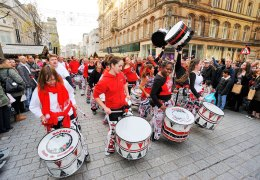 NEWS: Batala Liverpool drum up support for the Philippines.