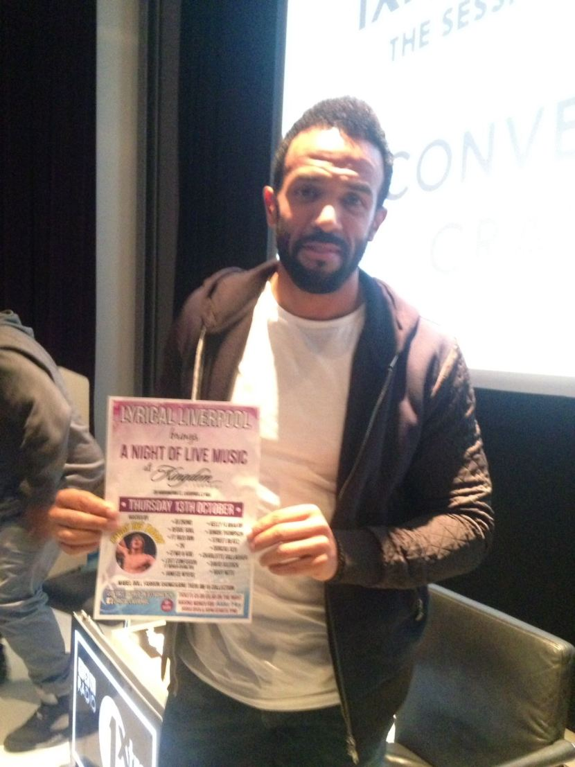 Craig David shows his support for Alder Hey