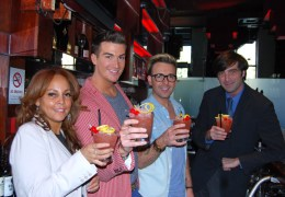 NEWS: Scousewives couple launch Liverpool Pride's sexy cocktail at Sir Thomas Hotel