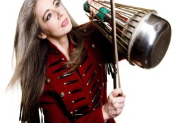 COMING UP: Dame Evelyn Glennie returns to Liverpool after Olympic Ceremony triumph