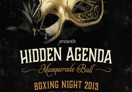 Hidden Agenda: The Masquerade Ball, Revolution Albert Dock, 26th Dec