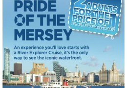 OFFER: All aboard with 2 for 1 Ferry tickets during Pride