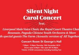 WHATS ON: Silent Night Carol Concert | St George's Hall | 10.12.15