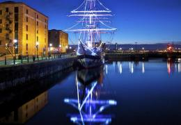 CHRISTMAS 2013: Festive lights and family fun at Albert Dock