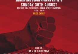 WHATS ON: SA to UK – Arts in Activism Live | District | 30.08.15