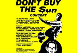 Clash and Manics Legends Sign Up for Don't Buy The Sun Concert