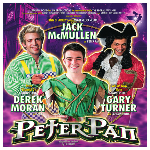 NEWS: The Floral Pavilion announce cast for Peter Pan panto