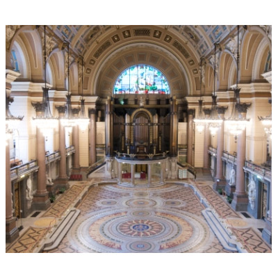 NEWS: Minton tiles on display at St George's Hall, 2-15 Aug 2012