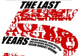 COMING UP: The Last 5 Years at The Actor's Studio, 24 July – 3 Aug 2012