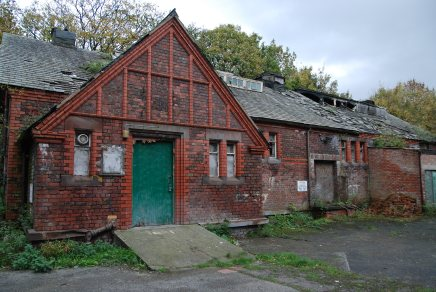 The old baths building