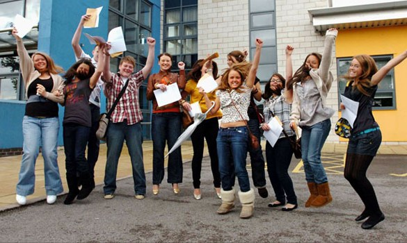 GCSE results smash national average