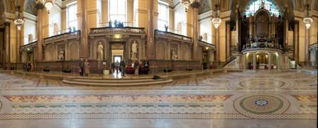Minton Tiles at St George's Hall