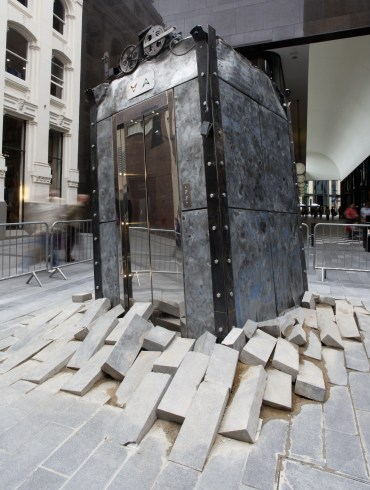 Oded Hirsh, The Lift, Liverpool Biennial 2012.