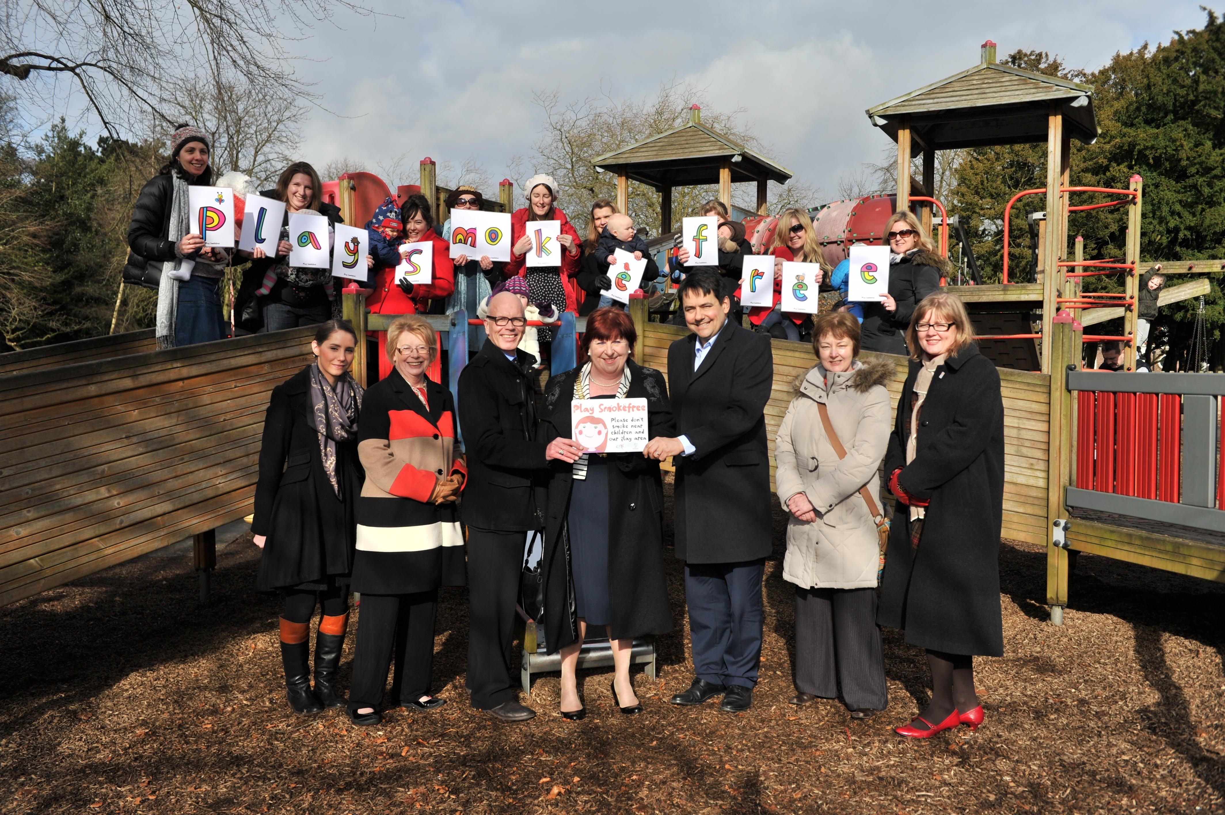 Launch of smokefree play areas