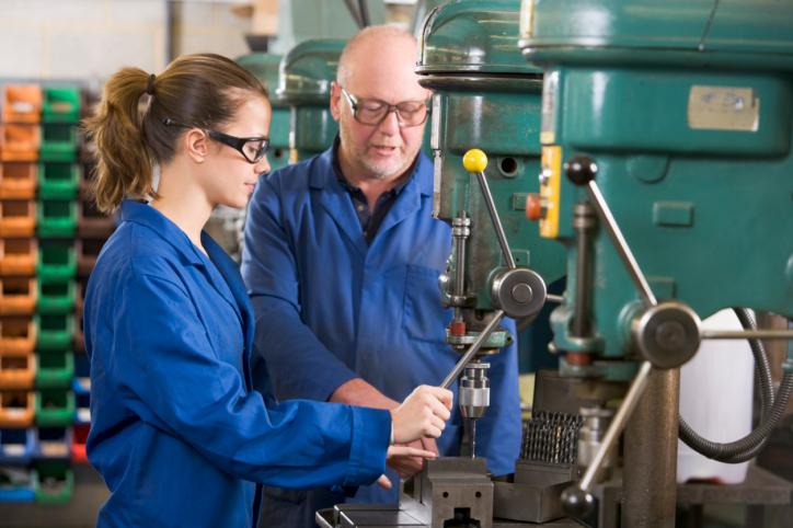 Apprentice machinist